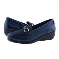 Zapatos 23993 cuña piel marino 24 Horas