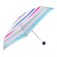 Guarda-chuva Esprit azul mini manual com riscas