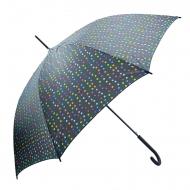 Guarda-chuva longo automático Benetton polka dot