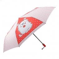 Guarda-chuva abre-fecha desenhos gatos e cães