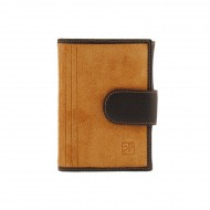 Carteira de couro com carteira