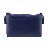 Bolsa de couro retangular com alça de ombro