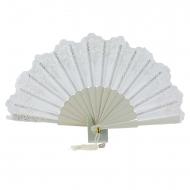 seda ventilador e cerimônia de casamento do laço