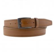 Belt pele lisa e gravado no lado