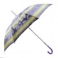 Guarda-chuva longo automático impresso flores