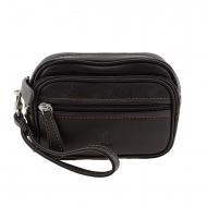 Bolsa de couro e fanny pack para homens