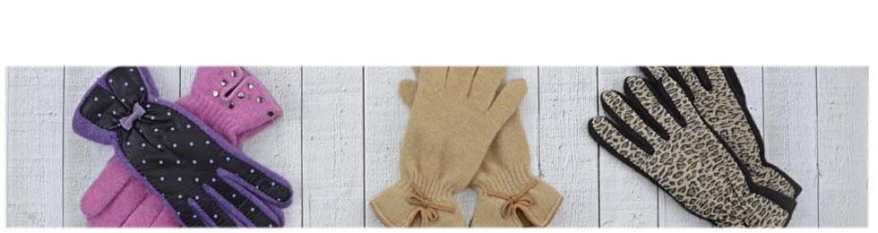 Luvas de lã